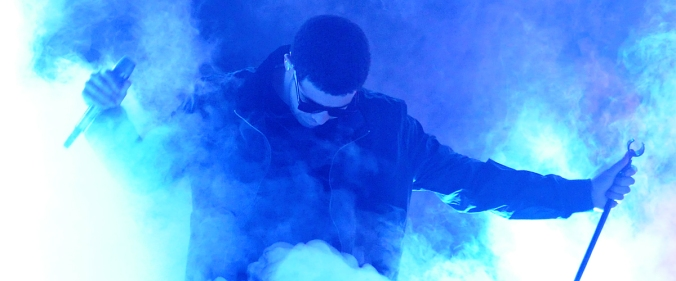 Drake performs at San Manuel casino on February 10, 2011. photography by Andrew Phipps.