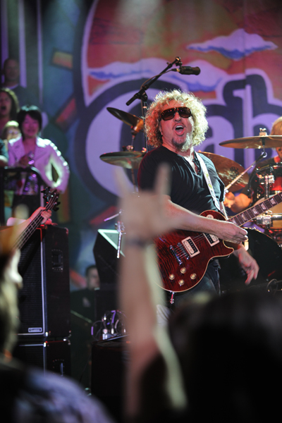 Sammy Hagar - March 2010