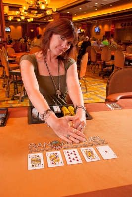 Annie Duke playing poker relates to business